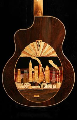 McPherson (new) MG 4.0XP Manhattan Skyline in Art Deco