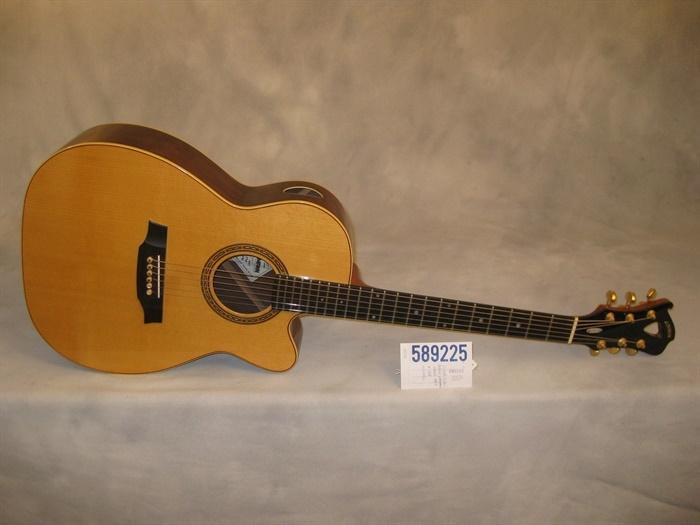 Lehman used 2006 model 1887 cutaway acoustic guitar - Cocobolo granada ...