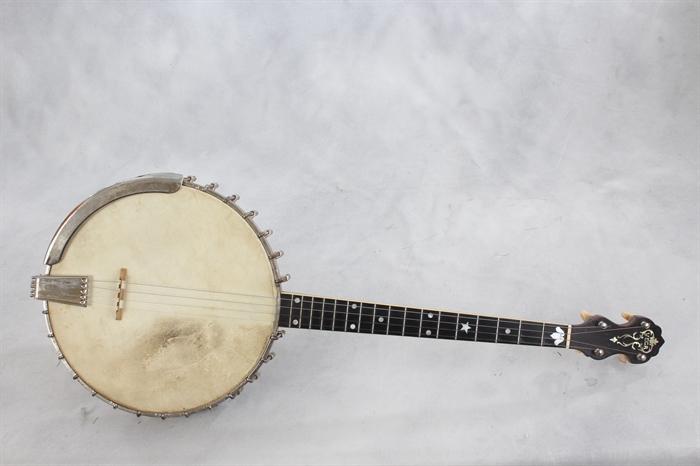Vega (used, 1925) Style M Tubaphone Tenor Banjo - Mandolin