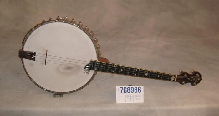 Vega (used, 1924) Tubaphone Style M Tenor Banjo Resonator