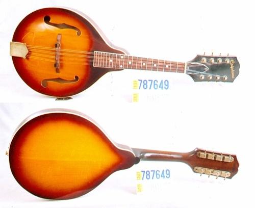 Epiphone (used) Adelphi - Mandolin Brothers, Ltd
